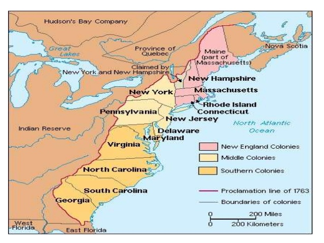 Map Of The 4 New England Colonies.Jobs In The Massachusetts Bay Colony Meredith Allard